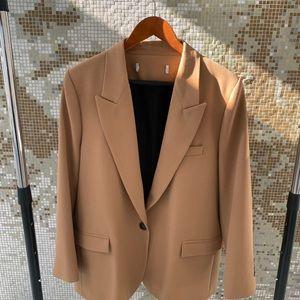 Zara camel colored blazer
